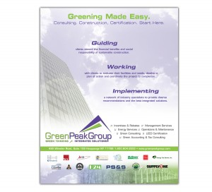drgli green peak reli ad design print work