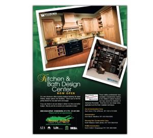 drgli nassau suffolk lumber wellborn cabinet ad design print work