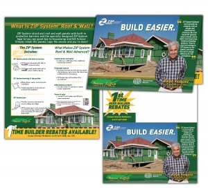 drgli nassau suffolk lumber zip mailer design print work