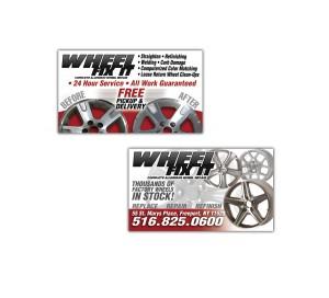 drgli wfi business cards design print work
