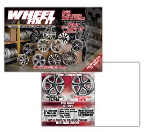 drgli wfi wheel selling postcard design print work