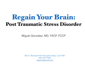 Regain Your Brain from PTSD