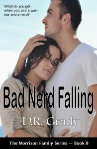 Book Cover: Bad Nerd Falling