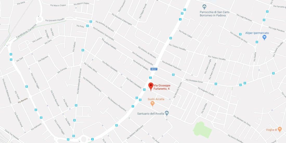 Ambulatorio Fisiomestrino, via Aquileia n. 56 - 35035 – Mestrino (PD), tel: 049 9003799