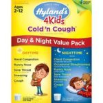 Hyland's 4 Kids Cold and Cough Day and Night Value Pack Relieves Sleeplessness