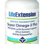 Super Omega-3 Plus EPA/DHA with Sesame Lignans and Olive Extract Superior Cardio Support