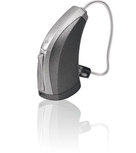 Receiver in the ear hearing aid