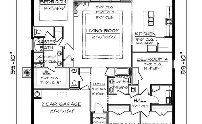 The Victoria Floor Plan D R Horton Cute766