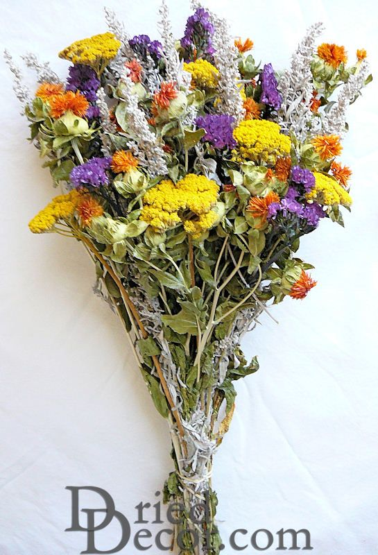 dried flower bunch bouquet