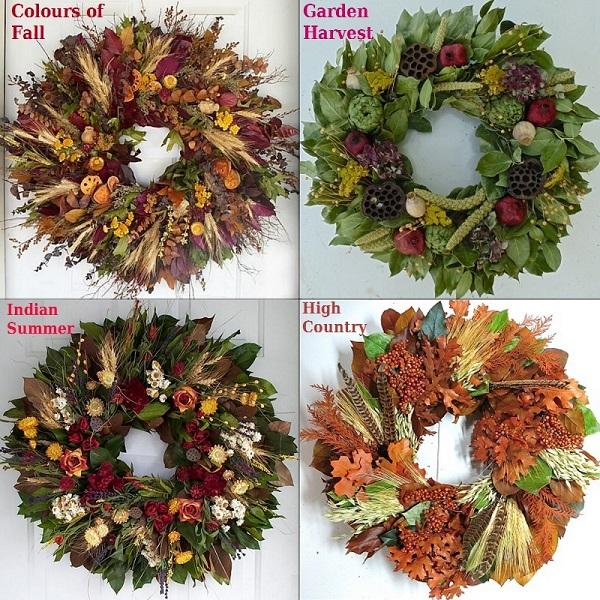 dried flower arrangements decorative wreaths fl - Decorative Wreaths