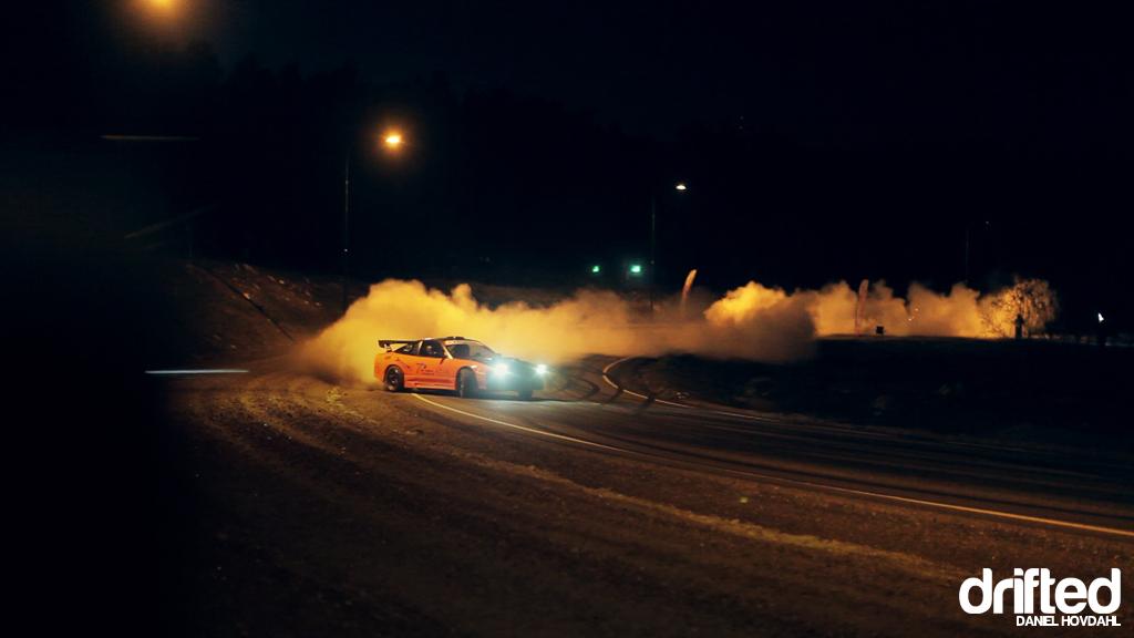 Motorcycle And Car Drift Wallpaper Video Biltema Drift Night Drifted Com