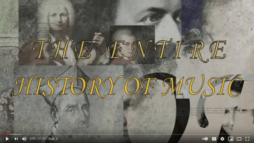The Entire History Of Music