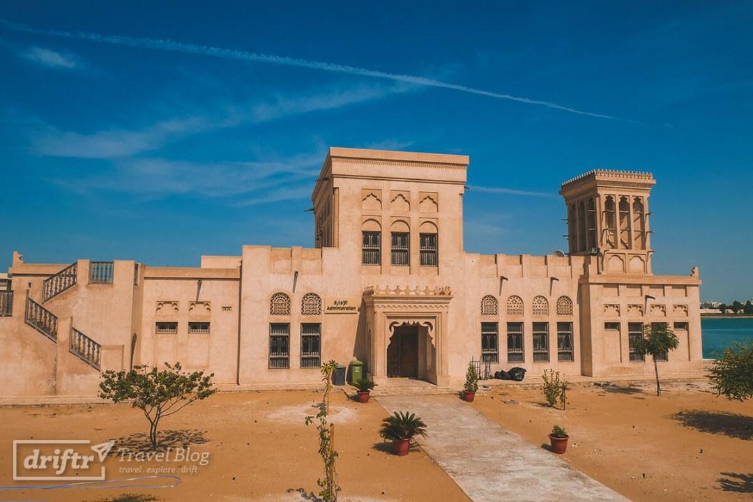 Teil des Sheikh Zayed Heritage Centre