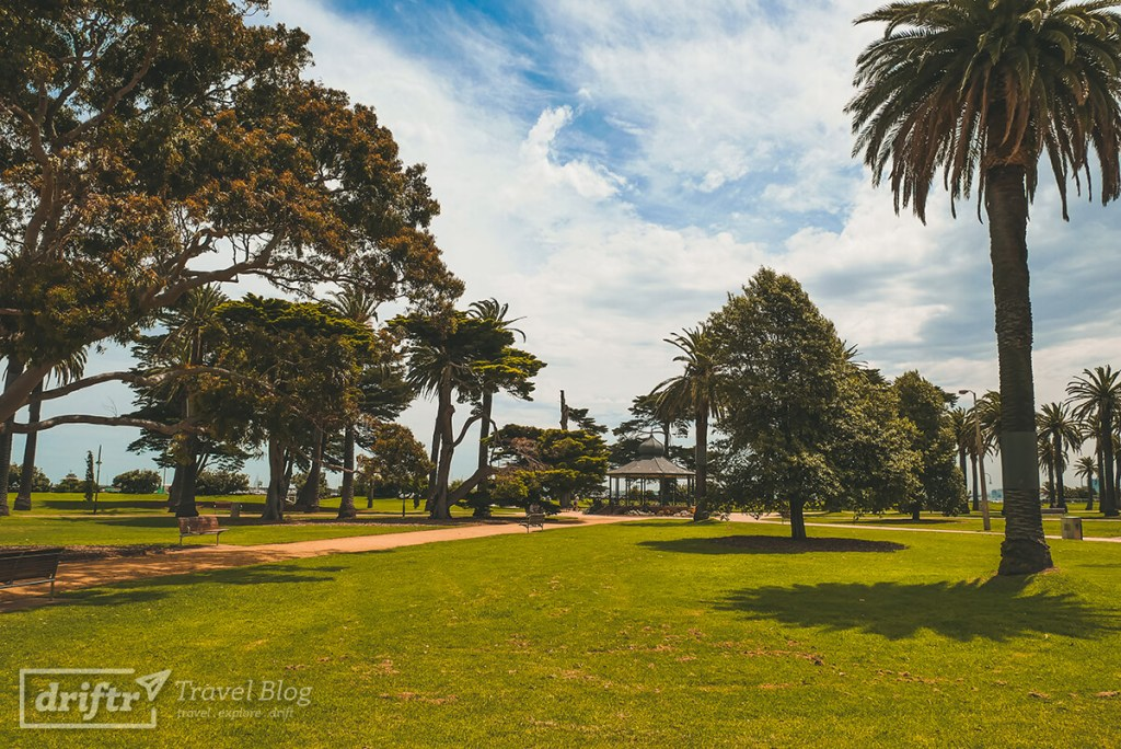Catani Gardens in St. Kilda