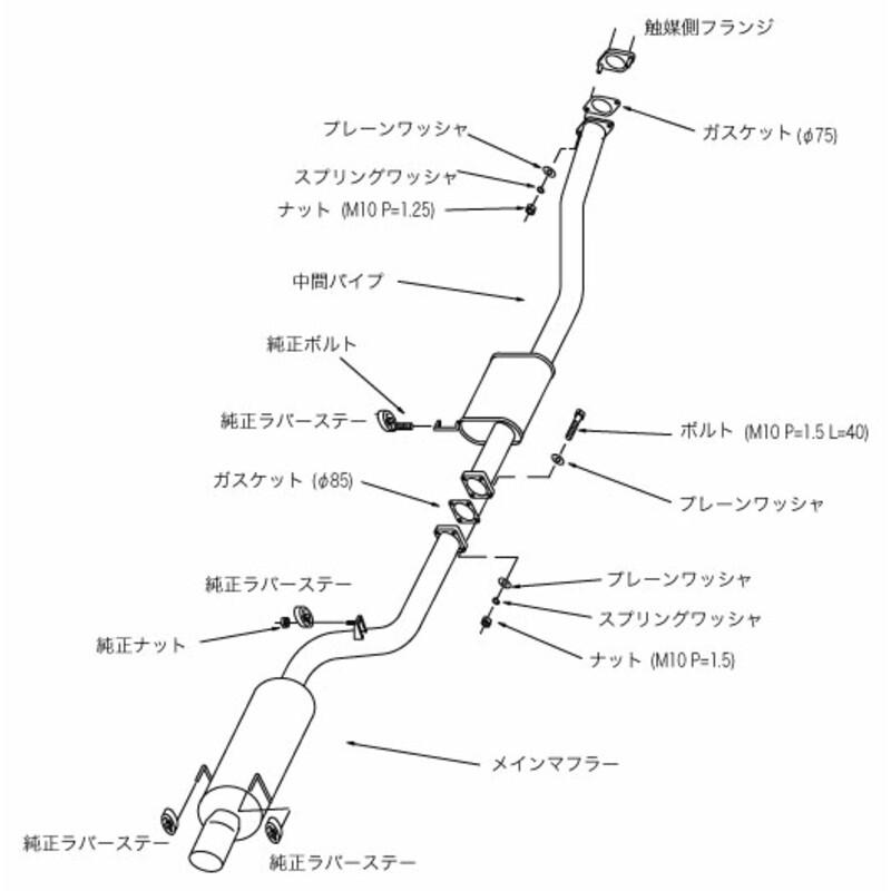 Ligne d'Echappement HKS