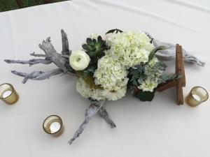 wedding driftwood