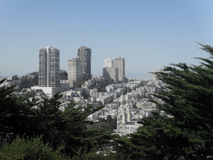 A view across Down Town San Francisco