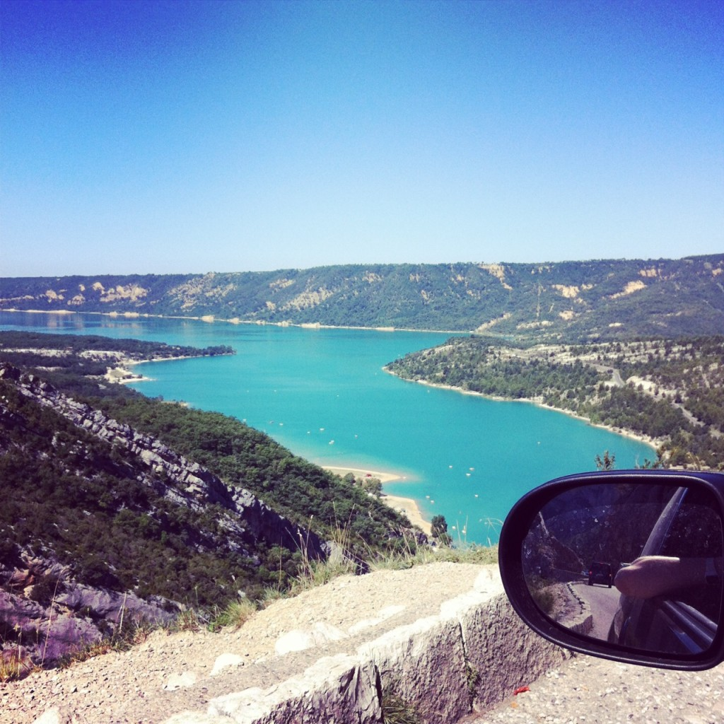 Glacial lake in the Haute Alps Provence