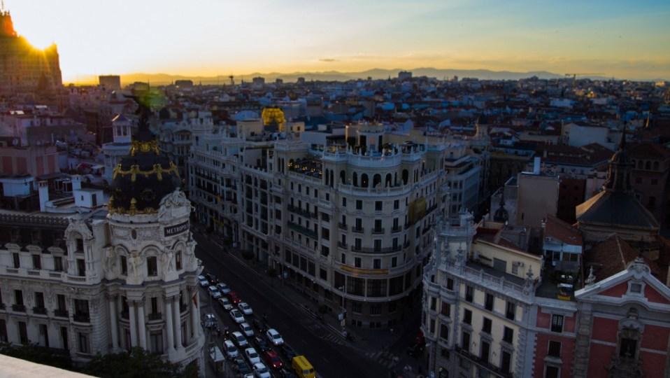 Madrid rooftop terrace belles artes