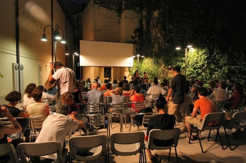 Rooftop Cinema in Madrid - Cine Doré Filmoteca - open air cinema madrid
