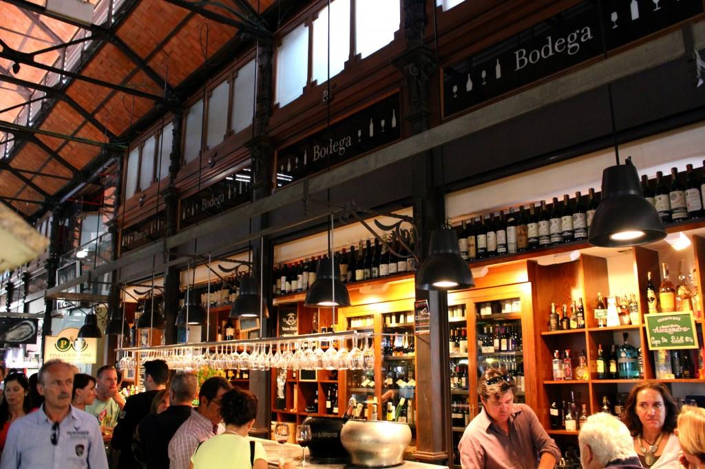 mercado san miguel Madrid food market