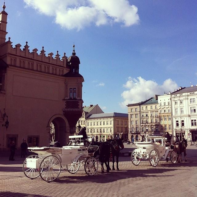 Horse and Cart Ride, Krakow, Poland