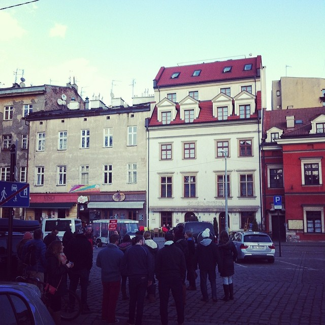 Krakow Free Walking Tour, Jewish Quarter, Krakow, Poland