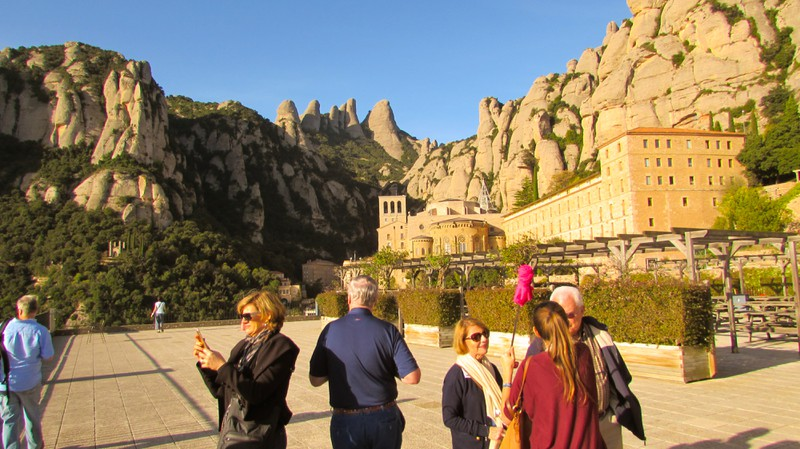 Monsterrat Monastery Barcelona Catalonia