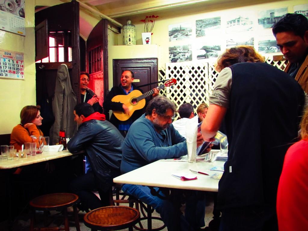 La Cova Fumada Tapas Bar in Barceloneta Beach Barcelona