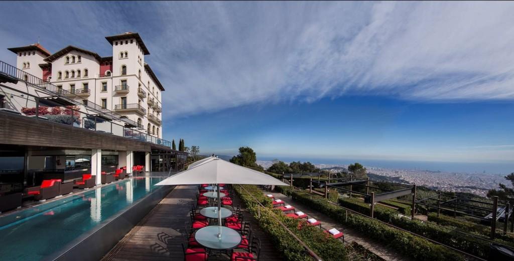 La Gran Hotel Florida Five Star Hotel in Barcelona Mountains