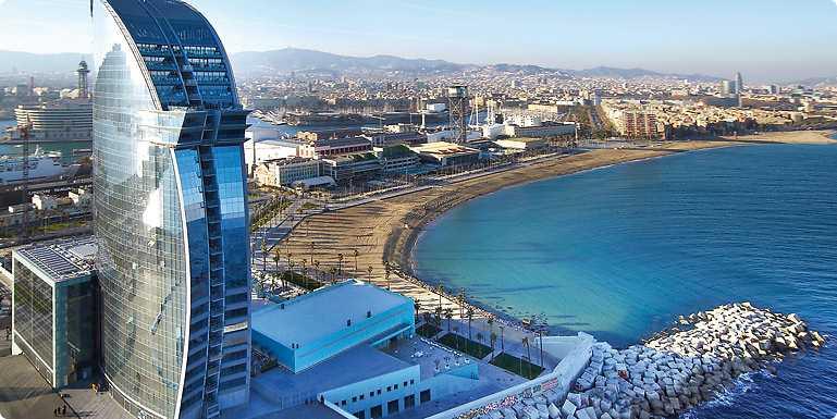 W Hotel Barcelona 5 Star Hotel by the Beach