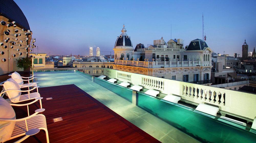ohla-hotel Barcelona luxury 5 star acomodation