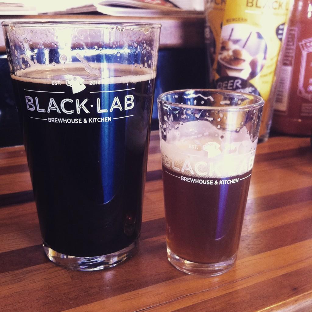 Black Lab Craft Beer Brewpub in Bareloneta beach Barcelona
