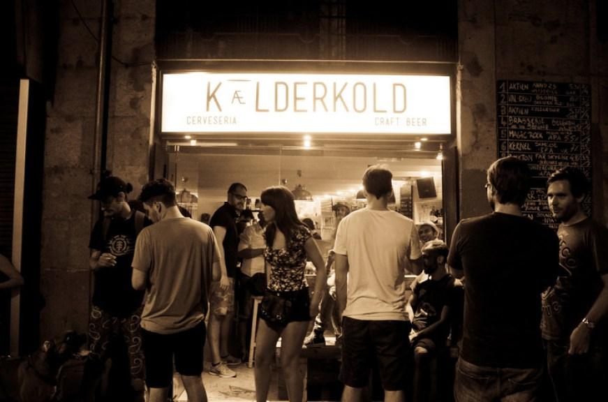 Kaelderkold Craft Beer Bar Barcelona Near Las Ramblas