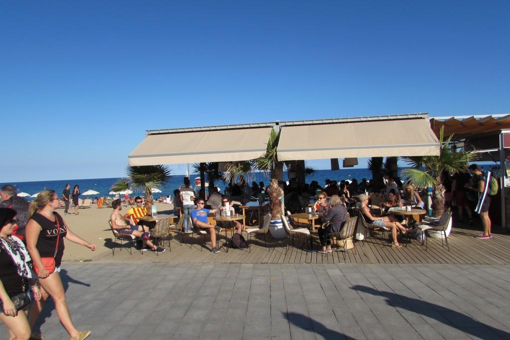 Chiringuito beach bar Barcelona