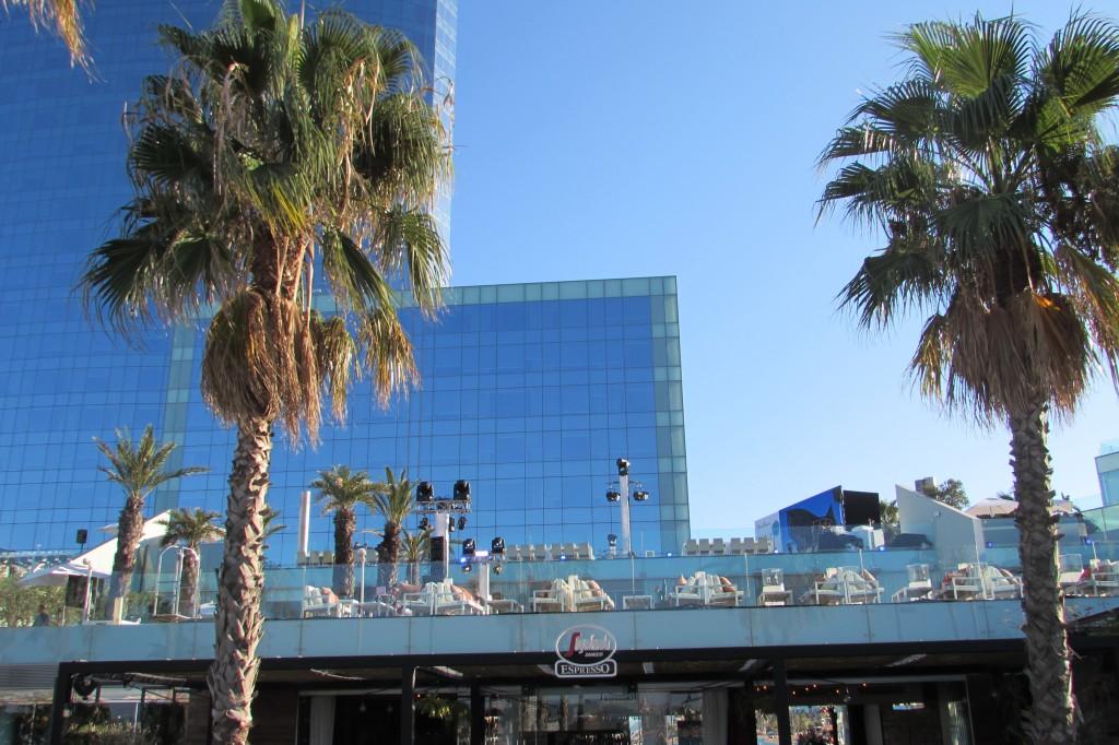 the W hotel terrace bar Barcelona