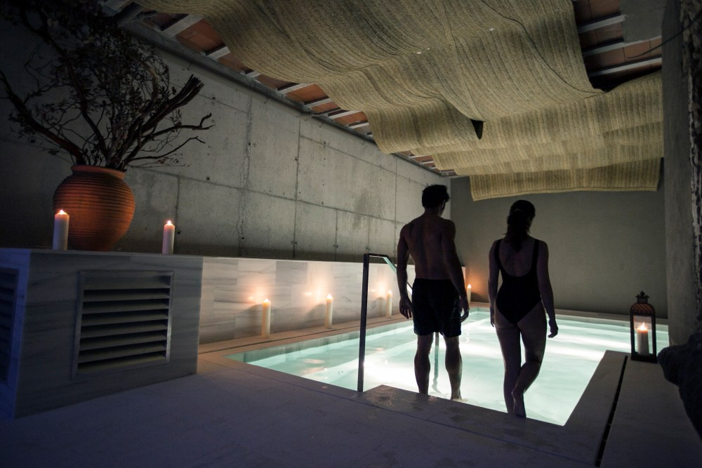 Aire de Vallromanes ancient baths and spa - DriftwoodJournals.com couples retreat near Barcelona