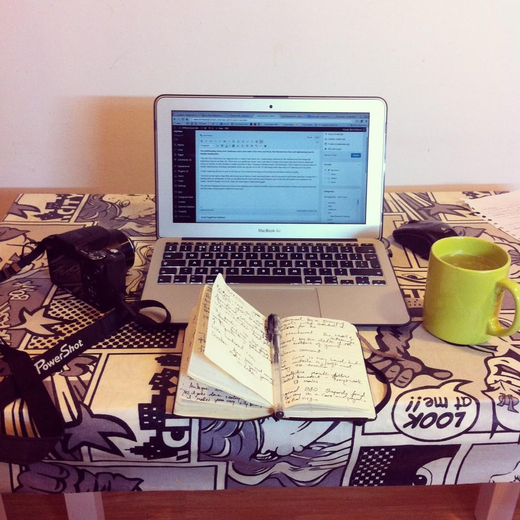 Travel writer's essential Moleskin notebooks