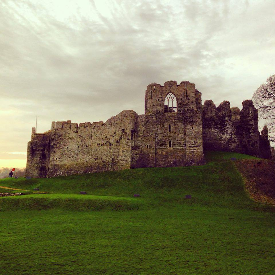 Oystermouth Castle, Wales, Swansea