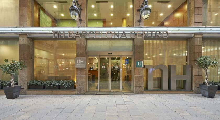 NH Barcelona Centro Hotel Near Las Ramblas