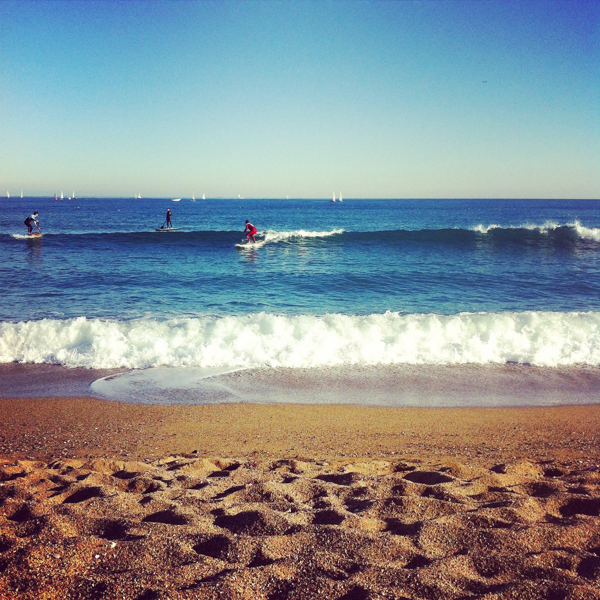 Llevant Beach Barcelona Surf Spot