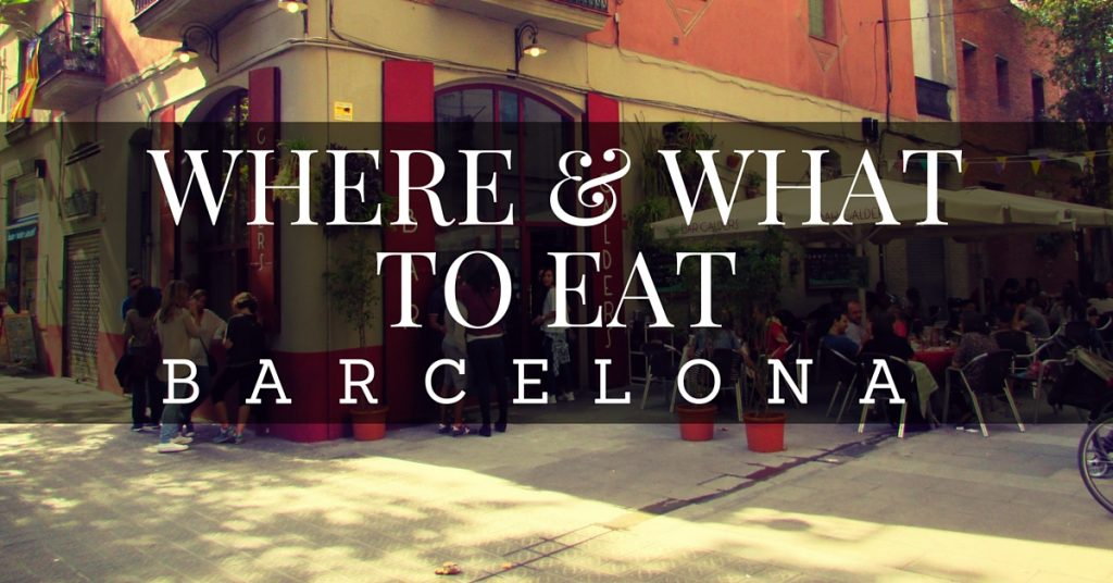 Where to Eat and Drink in Barcelona ~ An Inside Guide by Local Blogger Ben Holbrook