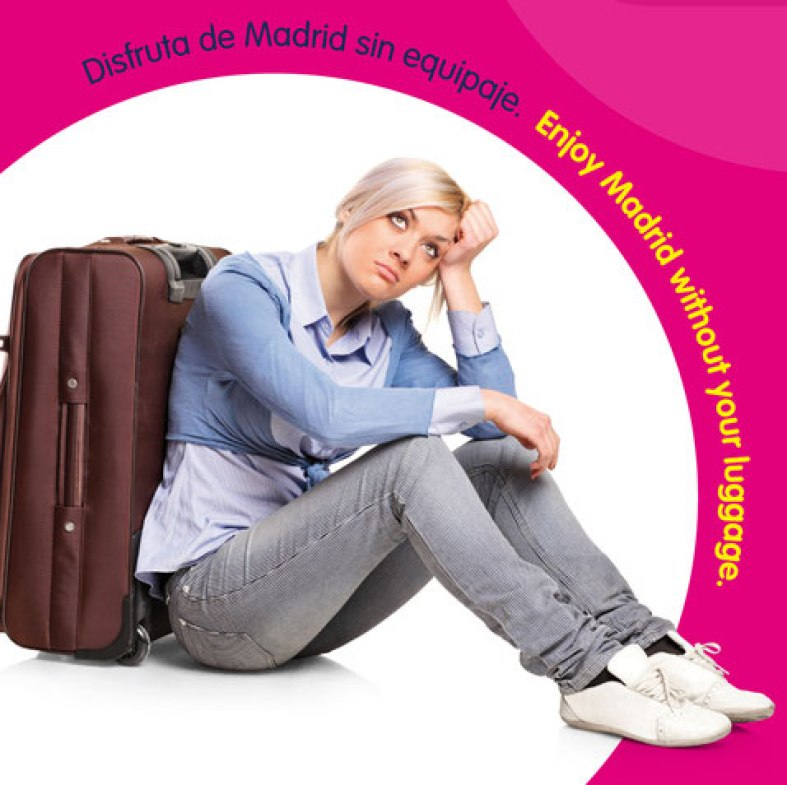 Left Luggage Storage Service in Madrid City Centre