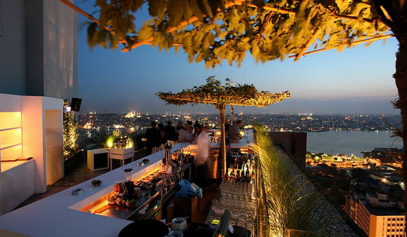 mikla restaurant Istanbul