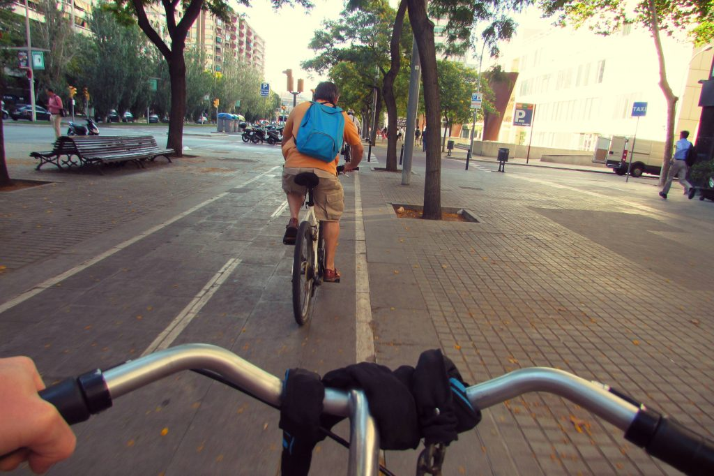 Barcelona cycle tracks