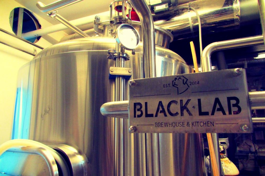 Blacklab craft beer brewery in Barceloneta Barcelona