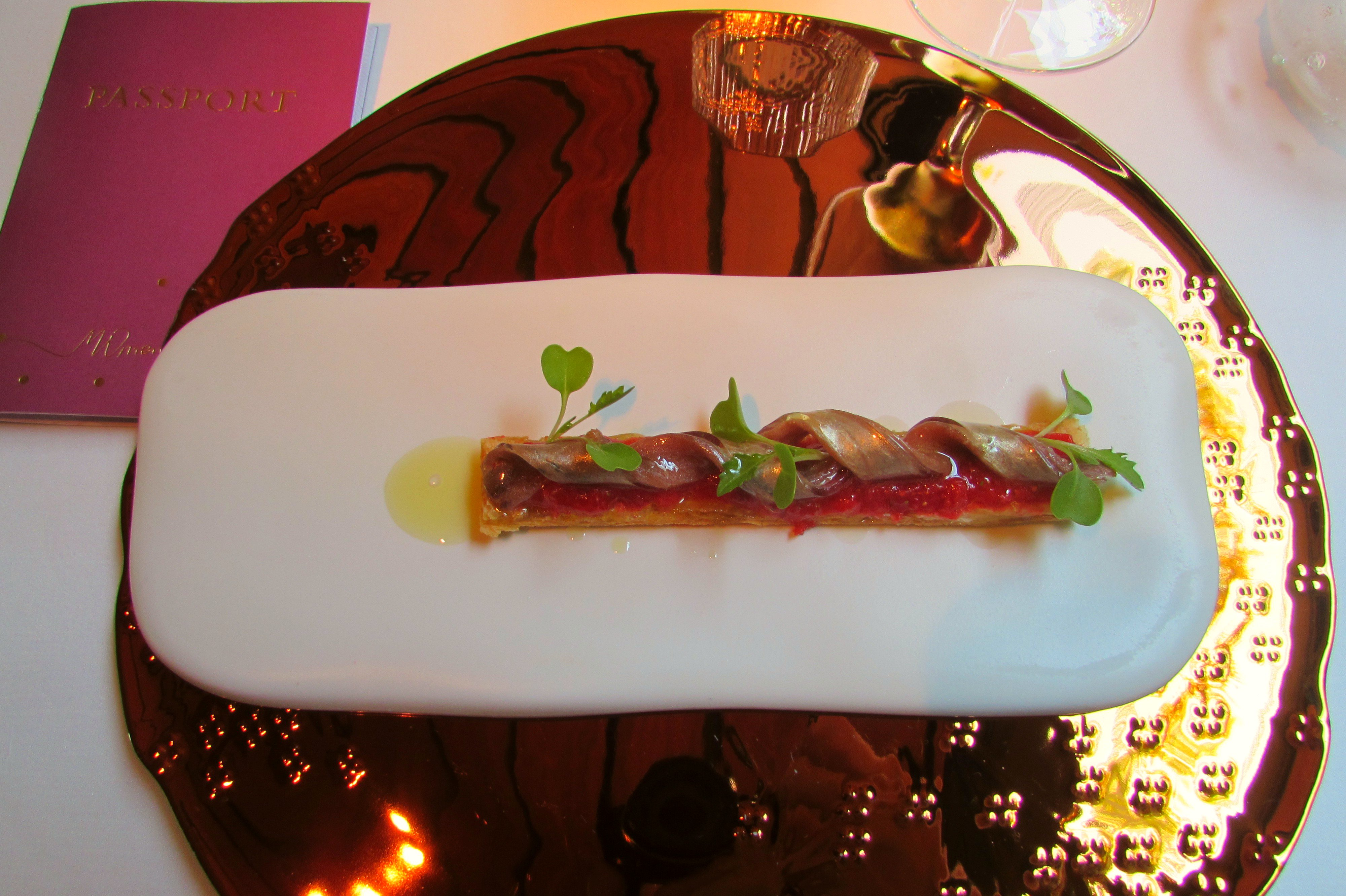 Moments 2-Michelin Starred Restaurant Barcelona - Starter Dish