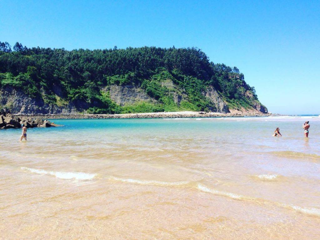 Rodilles beach, Asturias Surf beach