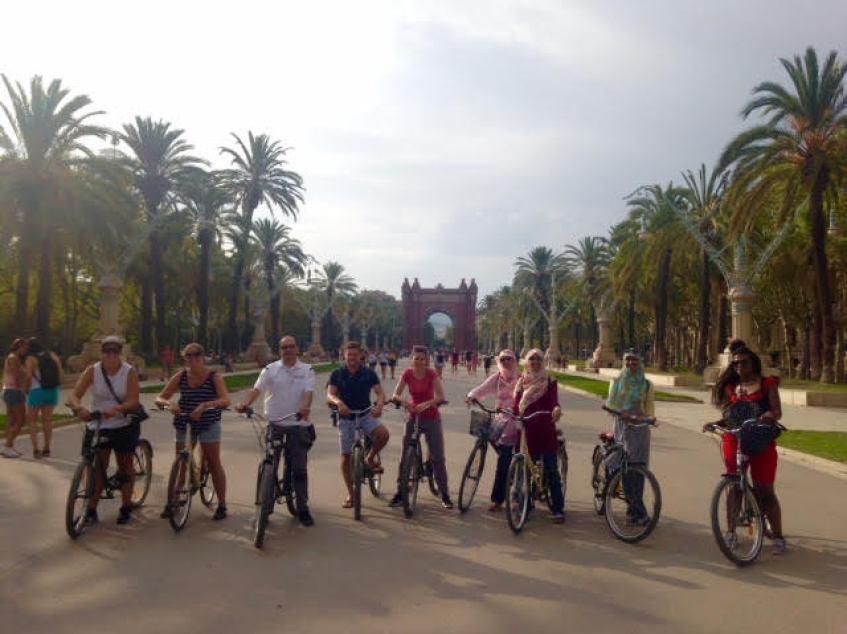Free Bike Tour Barcelona Original Europe Tours