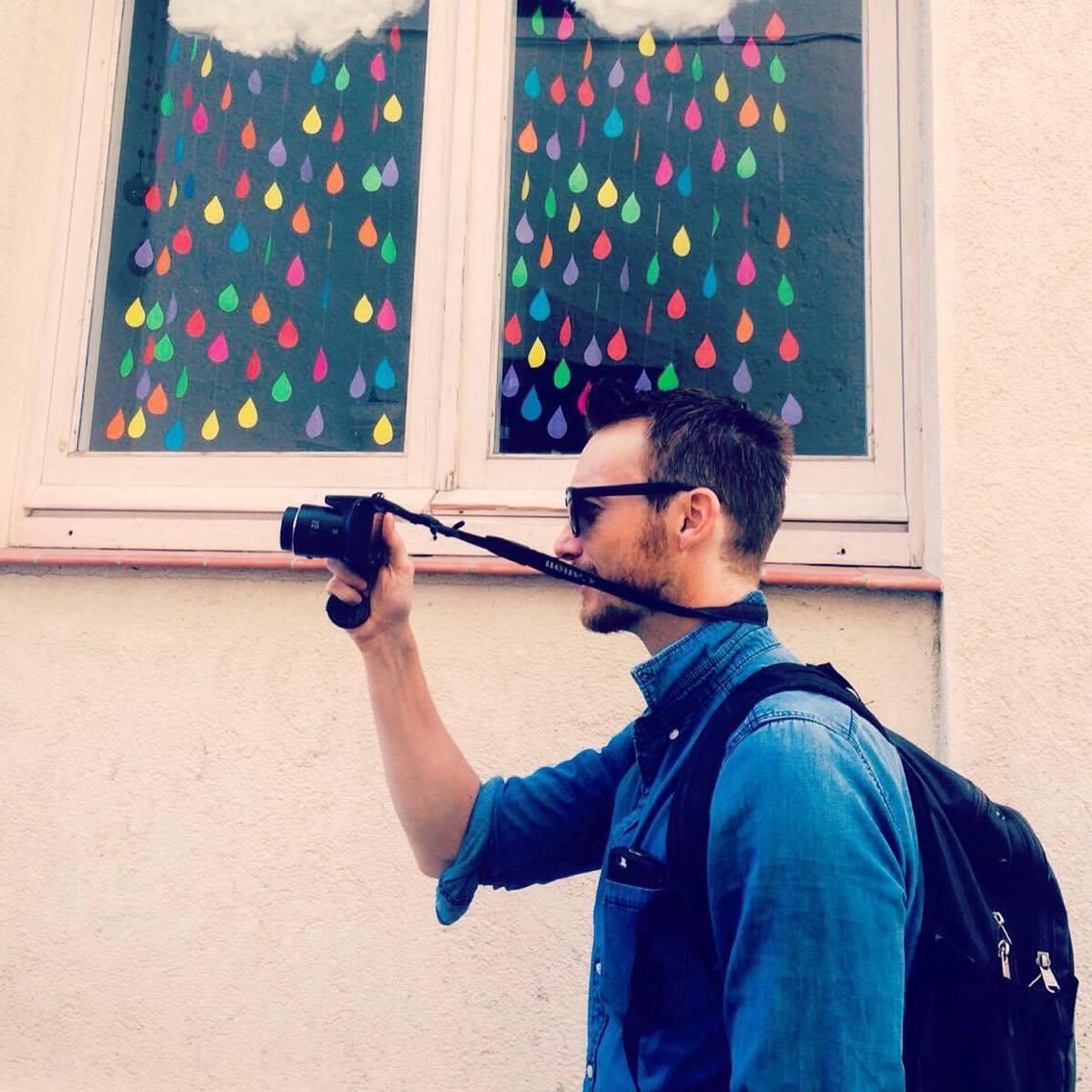 Barcelona blogger Ben Holbrook from Driftwood Journals